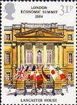 London Economic Summit Conference 31p Stamp (1984) Lancaster House