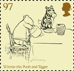 Childrens Books - Winnie The Pooh 97p Stamp (2010) Winnie-the-Pooh and Tigger