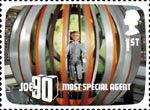 The Genius of Gerry Anderson 1st Stamp (2011) Joe 90