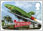 The Genius of Gerry Anderson 1st Stamp (2011) Thunderbirds