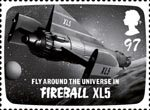 FAB: The Genius of Gerry Anderson 97p Stamp (2011) Fireball XL5