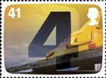 The Genius of Gerry Anderson 41p Stamp (2011) Thunderbird 4