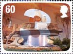 The Genius of Gerry Anderson 60p Stamp (2011) Thunderbird 3