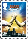 Musicals 1st Stamp (2011) Blood Brothers