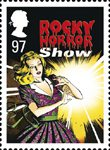 Stage Musicals 97p Stamp (2011) Rocky Horror Show