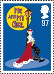 Stage Musicals 97p Stamp (2011) Me and My Girl
