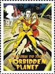 Stage Musicals 97p Stamp (2011) Return to the Forbidden Planet