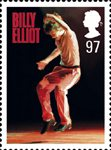 Stage Musicals 97p Stamp (2011) Billy Elliot