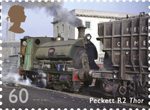 Classic Locomotives of England 60p Stamp (2011) Peckett R2 Thor