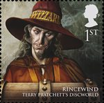 Magical Realms 1st Stamp (2011) Rincewind