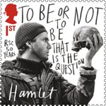 Royal Shakespeare Company 1st Stamp (2011) Hamlet