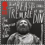 Royal Shakespeare Company 66p Stamp (2011) The Tempest
