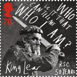 Royal Shakespeare Company 76p Stamp (2011) King Lear