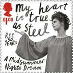 Royal Shakespeare Company �1.00 Stamp (2011) A Midsummer Night's Dream