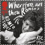 Royal Shakespeare Company �1.10 Stamp (2011) Romeo and Juliet