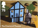 Royal Shakespeare Company 76p Stamp (2011) The Courtyard