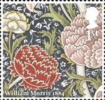 Morris and Company 1st Stamp (2011) Cray - William Morris