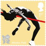 Olympic & Paralympic Games, Series 3 1st Stamp (2011) Athletics - Field