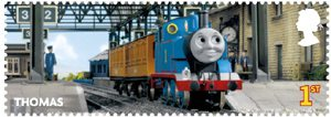 Thomas the Tank Engine 1st Stamp (2011) Thomas the Tank Engine