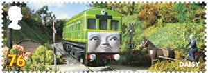 Thomas the Tank Engine 76p Stamp (2011) Daisy