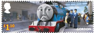 Thomas the Tank Engine £1.10 Stamp (2011) Gordon