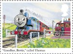 Thomas the Tank Engine 1st Stamp (2011) Thomas and Bertie the Bus