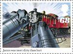 Thomas the Tank Engine 68p Stamp (2011) James