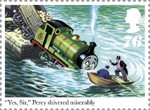 Thomas the Tank Engine 76p Stamp (2011) Percy