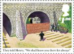 Thomas the Tank Engine �1.00 Stamp (2011) Henry