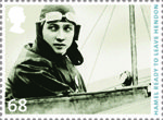 Centenary of Aerial Post 68p Stamp (2011) Hamel ready to leave Hendon