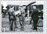 Centenary of Aerial Post �1.00 Stamp (2011) Greswell's Bleriot at Windsor