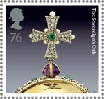 The Crown Jewels 76p Stamp (2011) The Sovereign�s Orb