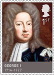 Kings & Queens, House of Hannover 1st Stamp (2011) George I (1714 - 1727)