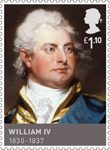 Kings & Queens, House of Hannover £1.10 Stamp (2011) William IV (1830 - 1837)