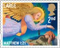 Christmas 2nd Large Stamp (2011) Joseph visited by the Angel