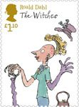 Roald Dahl £1.10 Stamp (2012) The Witches