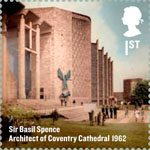 Britons of Distinction 1st Stamp (2012) Sir Basil Spence