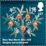 Britons of Distinction 1st Stamp (2012) Mary 'May' Morris