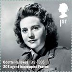 Britons of Distinction 1st Stamp (2012) Odette Hallowes
