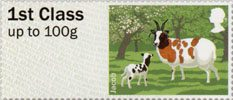 Post & Go - British Farm Animals I - Sheep 1st Stamp (2012) Jacob