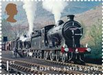 Classic Locomotives of Scotland 1st Stamp (2012) BR D34 Nos. 62471 and 62496