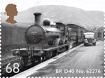 Classic Locomotives of Scotland 68p Stamp (2012) BR D40 No. 62276