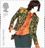 Great British Fashion 1st Stamp (2012) Granny Takes a Trip