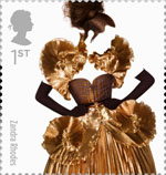 Great British Fashion 1st Stamp (2012) Zandra Rhodes