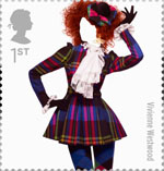 Great British Fashion 1st Stamp (2012) Vivienne Westwwod