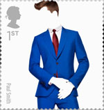 Great British Fashion 1st Stamp (2012) Paul Smith