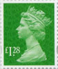 Definitive - Tariff 2012 £1.28 Stamp (2012) Emerald
