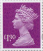 Definitive - Tariff 2012 £1.90 Stamp (2012) Rhododendron