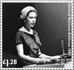 HM The Queen's Diamond Jubilee £1.28 Stamp (2012) United Nations Address