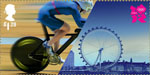 Welcome to the London 2012 Olympic Games £1.28 Stamp (2012) Cycling - London Eye